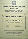 Concerto 'Messa di Gloria' di Gioacchino Rossini